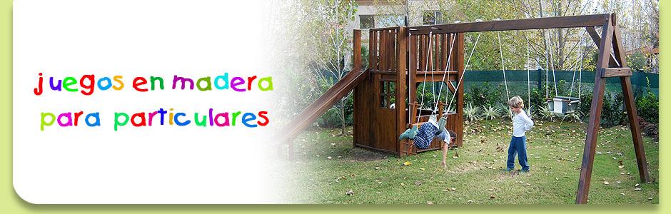 Juegos del Bosque, juegos de madera para chicos
